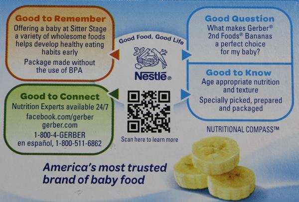 Gerber 2nd Foods Apple Berry with Mixed Cereal Fruit Puree 2 Pack