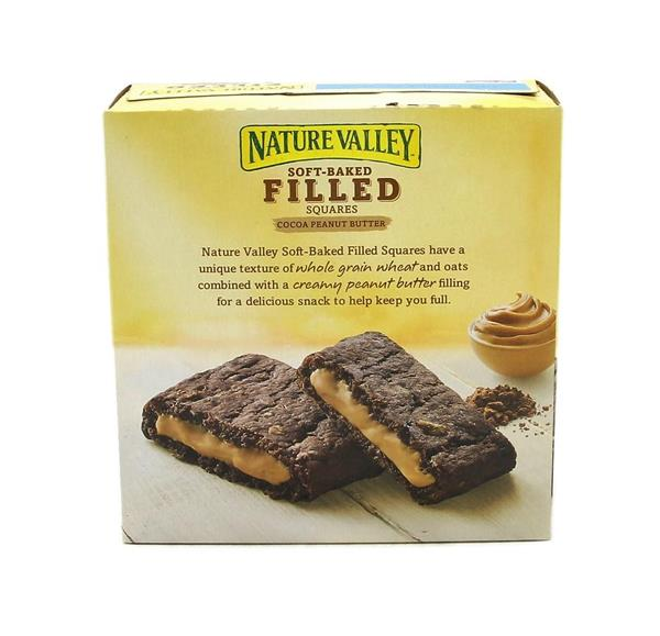 Nature Valley Soft Baked Filled Squares Cocoa Peanut Butter 5-1.42 oz Bars