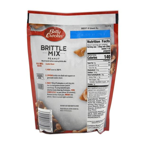 Betty Crocker Brittle Mix, Peanut