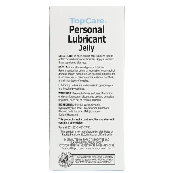 TopCare Personal Lubricant Jelly Fragrance Free