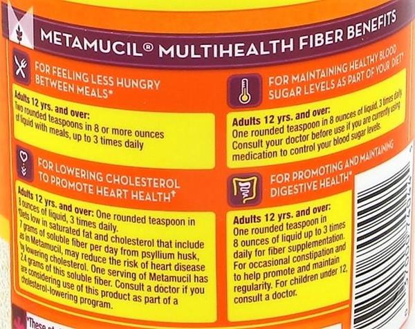 metamucil original coarse sugar powder 114 doses hyvee
