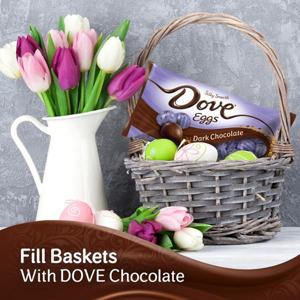 DOVE Easter Dark Chocolate Candy Eggs