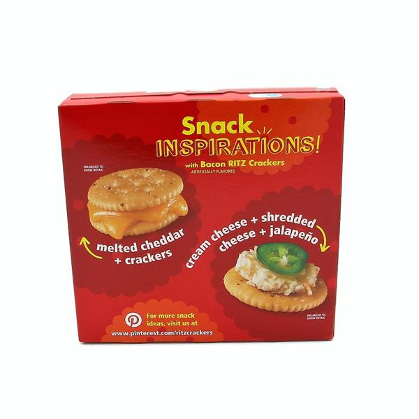 Nabisco Ritz Bacon Crackers