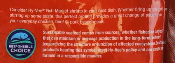 Hy-Vee Fish Market Cooked Shrimp 51/60Ct