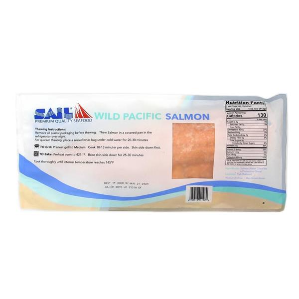 Sail Wild Pacific Salmon