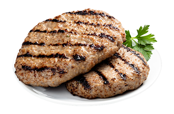 Pork Bratwurst Burger 1 Count