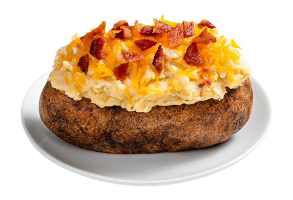 Bacon Cheddar Twice Baked Potato