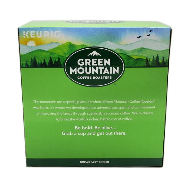 Green Mountain Coffee Roasters Breakfast Blend Light Roast K-Cups 32-0.31 oz ea