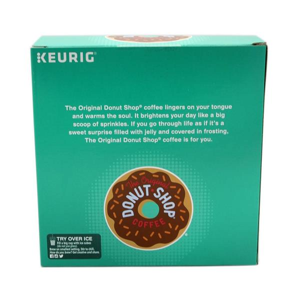 Donut Shop Coffee Regular K-Cups 32-0.39 oz ea