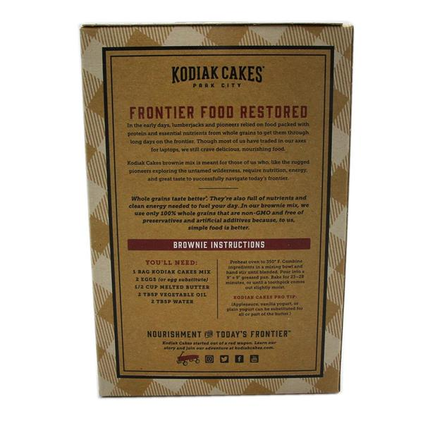 Kodiak Cakes Frontier Brownie Mix, Double Chocolate