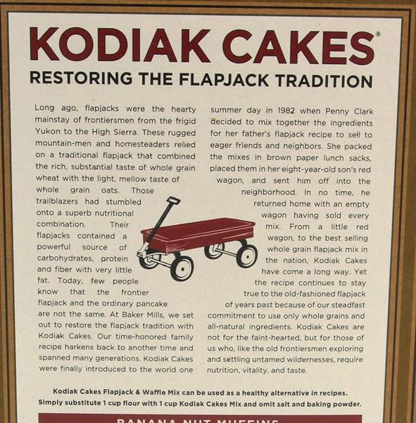 Kodiak Cakes Frontier Flapjack and Waffle Mix, Buttermilk & Honey