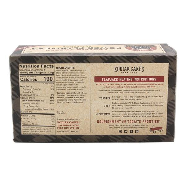 Kodiak Cakes 100% Whole Grains Protein Packed Power Flapjacks Buttermilk 12Ct
