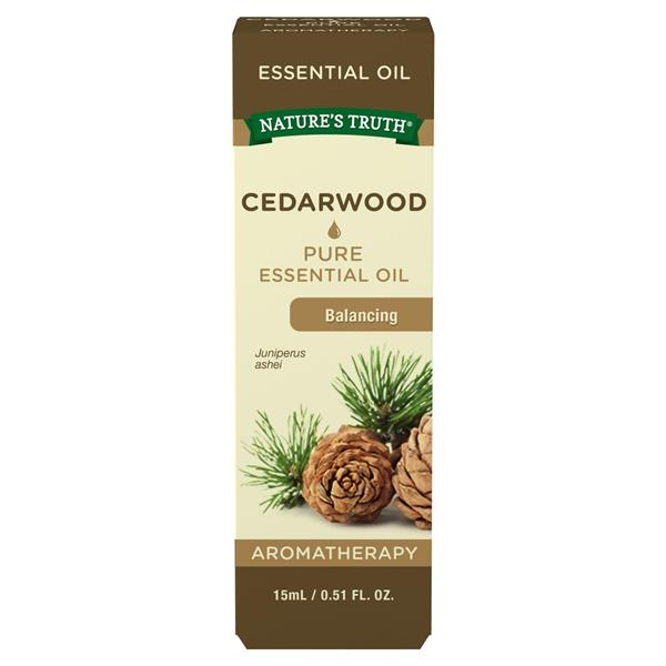 Nature's Truth Pure Cedarwood Essential Oil