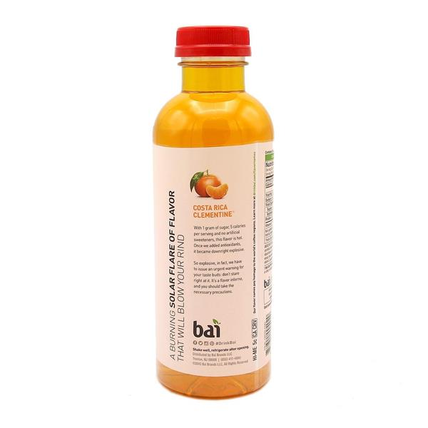 Bai Antioxidant Infusions Beverage Costa Rica Clementine