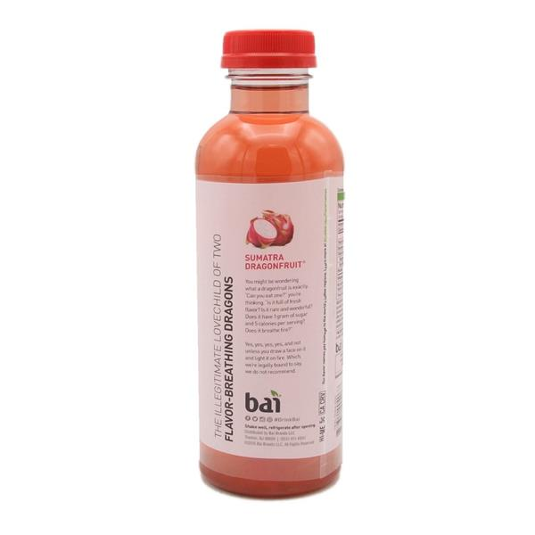 Bai Sumatra Dragonfruit, Antioxidant Infused Beverage