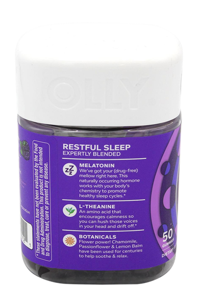 Olly Restful Sleep Gummies Hy Vee Aisles Online Grocery Shopping